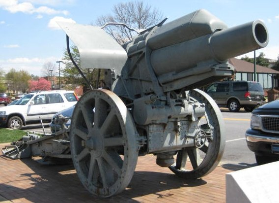 Nice Mortar That Looks Parked With The Surrounding Cars