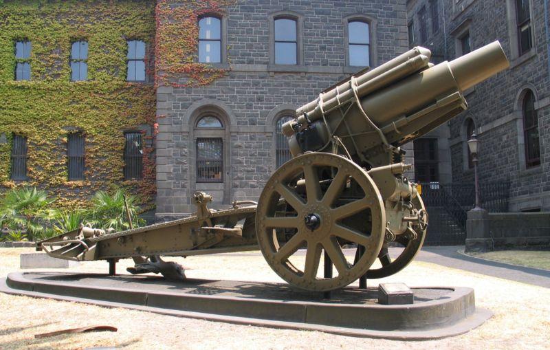 This Gun Has Been Captured Near St Quentin On September 18