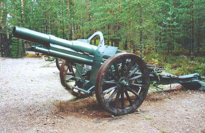 155 mm (French M1915) Howitzer