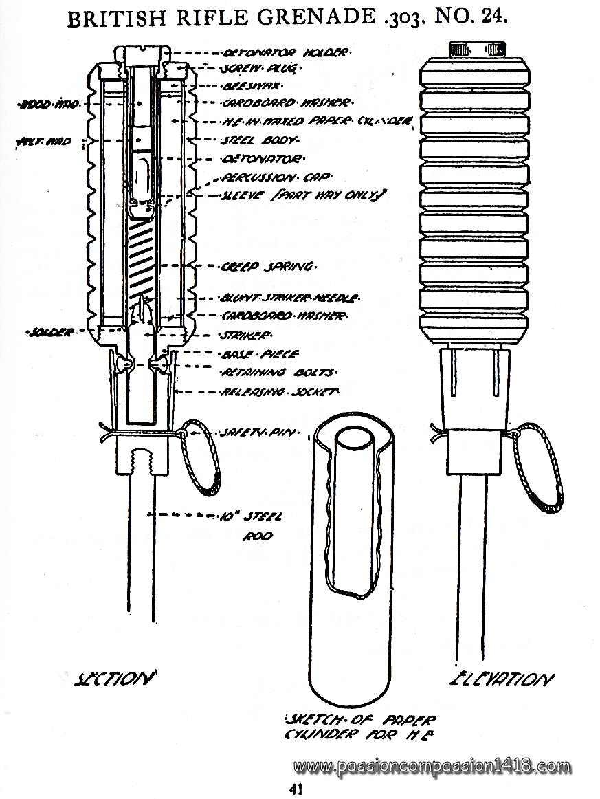 mkii grenade diagram